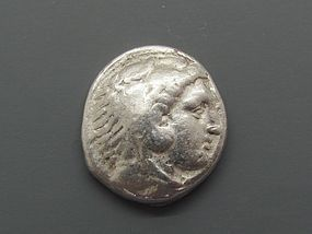 A SILVER TETRADRACHM OF ALEXANDER THE GREAT