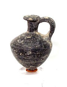 A CANAANITE TERRACOTTA JUGLET