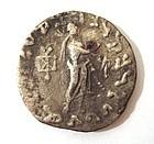 A INDO-SCYTHIAN SILVER TETRADRACHM OF AZES II
