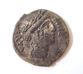 A RARE DENARIUS OF THE ROMAN REPUBLIC