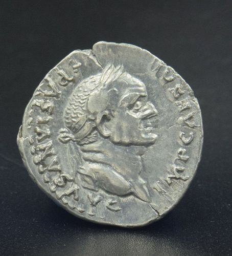 A ROMAN DENARIUS OF VESPASIAN