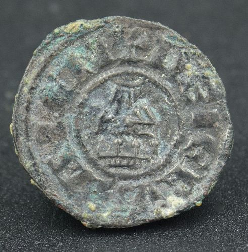 A BILLON DENIER OF AMALRIC I