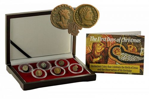 THE FIRST DAYS OF CHRISTMAS: A SET OF SIX ANCIENT COINS