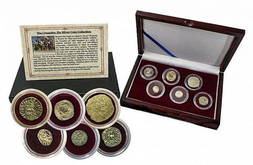 THE CRUSADERS: A SIX SILVER COIN COLLECTION