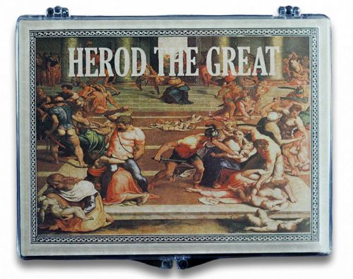HEROD THE GREAT PRUTAH IN CLEAR BOX