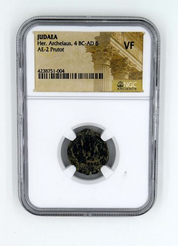 A NGC ENCAPSULATED 2-PRUTOT OF HEROD ARCHELAUS