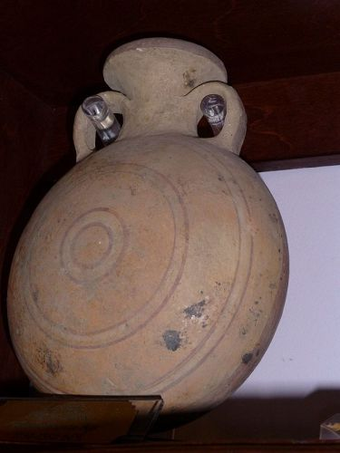 A CANAANITE PILGRIM FLASK FROM THE HOLY LAND