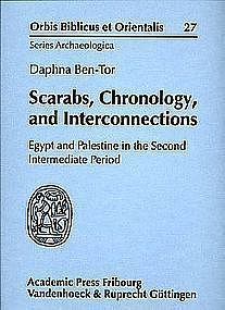 """SCARABS, CHRONOLOGY AND INTERCONNECTIONS"""