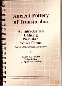 """ANCIENT POTTERY OF TRANSJORDAN"""