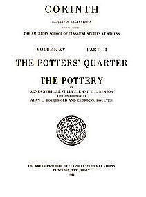 """CORINTH: THE POTTER'S QUARTER: THE POTTERY"""