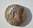 A SELEUCID SILVER TETRADRACHM OF DEMETRIOS II NIKATOR