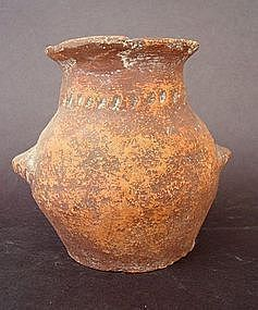 A CHALCOLITHIC TERRACOTTA JAR