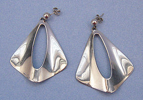 N.E. From Sterling Earrings