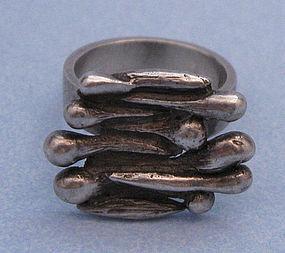 Handmade Sterling Ring, Gison Liedholm