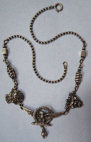 Peruzzi Sterling Necklace, Boston