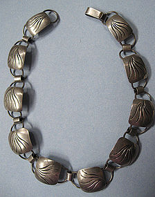 Sterling Handmade Necklace by Joseph Skinger, c.1950