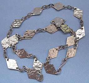 Peruvian Sterling Chain Necklace