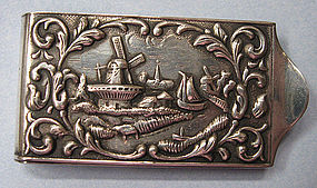 European Sterling Money Clip