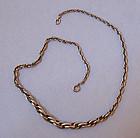 European Silver Chain Necklace