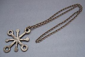 Danish Pendant and Chain