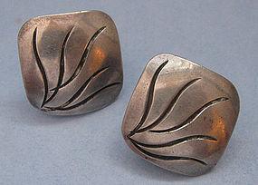Handmade Sterling Earrings by Joseph Skinger