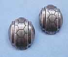 Trifari Sterling Earrings