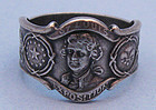 Gorham Sterling Expo Souvenir Ring, 1903