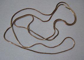 Long Chain of Rectangular Links