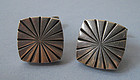 Danish Sterling Cuff Links