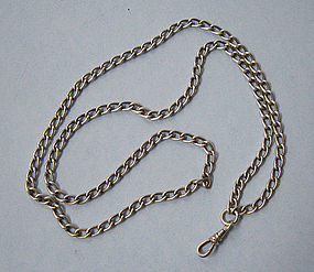 American Sterling Silver Watch Chain