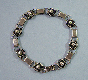 Danish Sterling Link Bracelet by Just Andersen