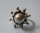 Sterling Starburst Ring, Erik Granit, 1971