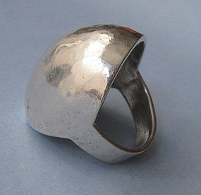 Sterling Domed Ring