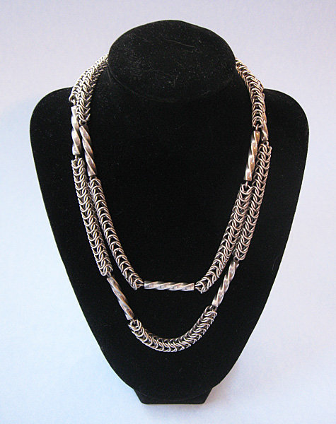 Mexican Sterling Chain Necklace