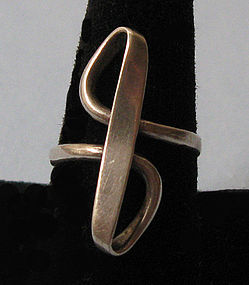 Silver Forged-Wire Ring, c. 1970