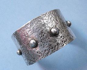 Large Silver Cuff, c. 1960