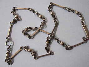 Mexican Sterling Chain, c. 1960