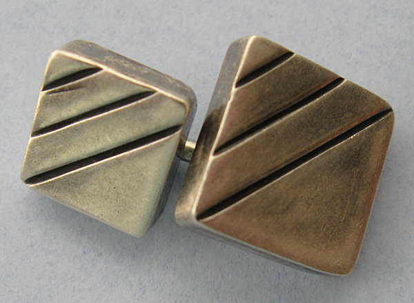 Mexican Sterling Cuff Links