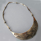 Sterling Bib Necklace, c. 1960