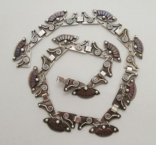 Handmade Mixed Metal Necklace