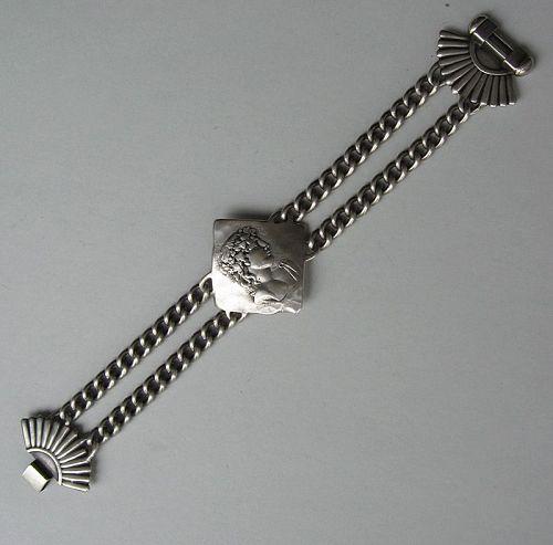 Shiebler Etruscan Sterling Bracelet