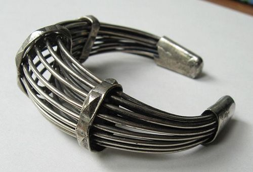 Cuff of Wire Strands
