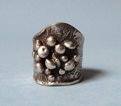 Italian Sterling Handmade Ring