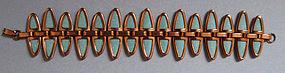Copper and Enamel Bracelet by Matisse, c. 1960
