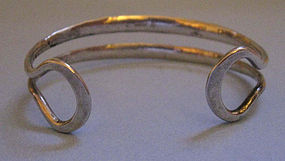 Sterling Silver Handwrought Bracelet