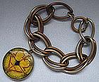 German Metal Link Bracelet, c. 1955