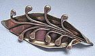 Inscribed Handmade Sterling Pin