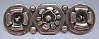 Silver Handmade Bar Pin, c. 1940
