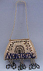 Iroquois Beaded Whimsey Purse, 1907