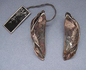 Sterling Silver Lenferink Earrings